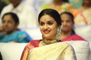 keerthi suresh photos at mahanati audio launch 7