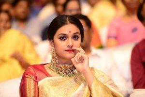keerthi suresh photos at mahanati audio launch 9