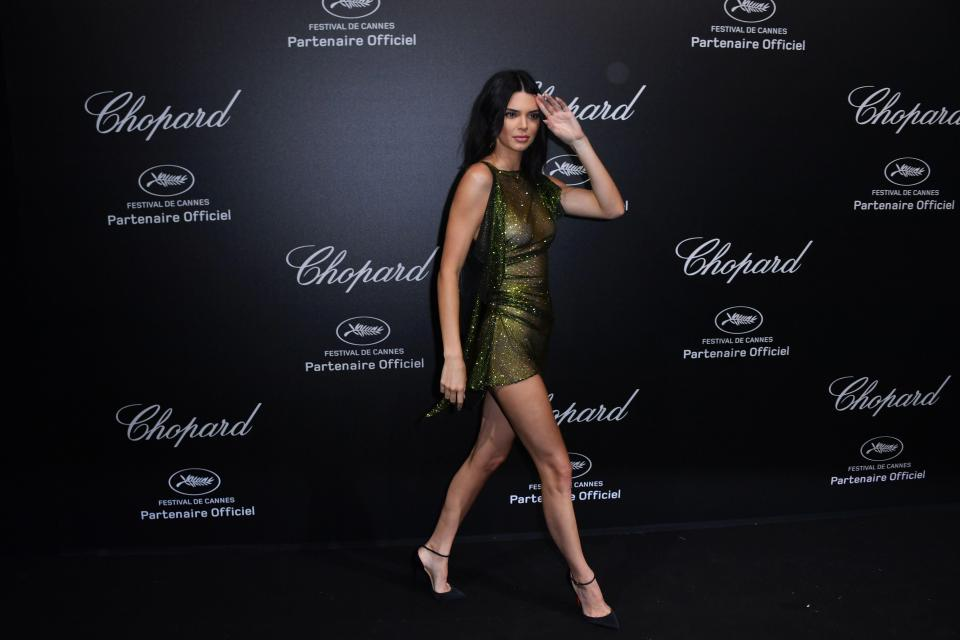 kendall jenner goes braless at cannes film festival party 10