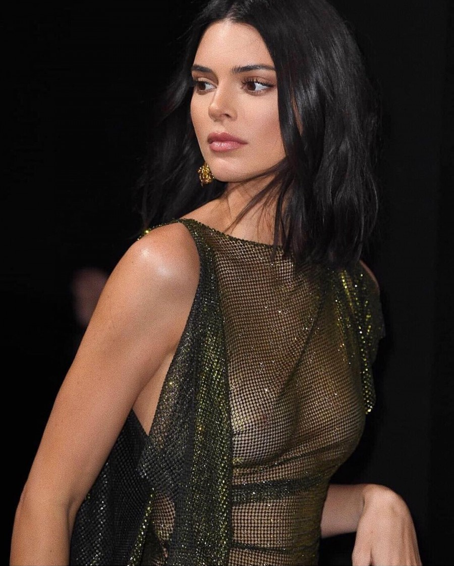 kendall jenner goes braless at cannes film festival party 4
