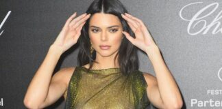 Kendall Jenner Goes Braless at Cannes Film Festival Party