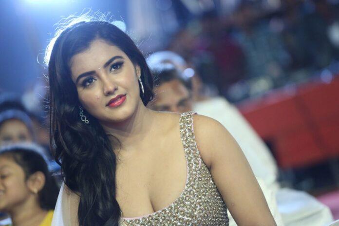 Malvika Sharma Hot Stills At Nela Ticket Audio Launch