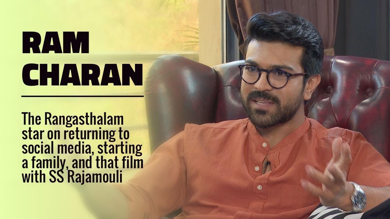 Rajeev Masand Interview with Ram Charan