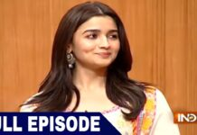 Bollywood Actress Alia Bhatt in Aap Ki Adalat