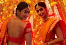 Pooja Hegde In Traditional Maharashtrian Saree Photos