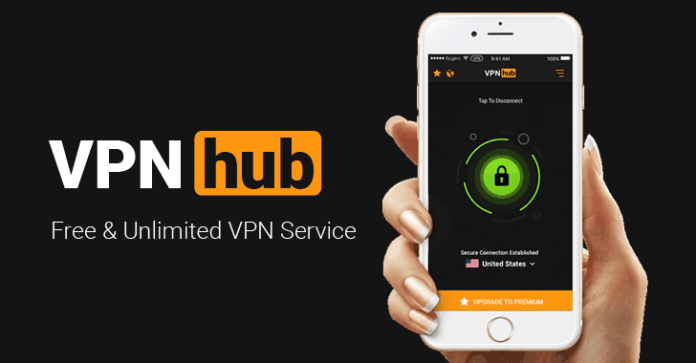 Pornhub Introduced Free VPN Service Called VPNhub