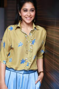Regina Cassandra Latest Photos at Mr.Chandramouli Movie Audio Launch