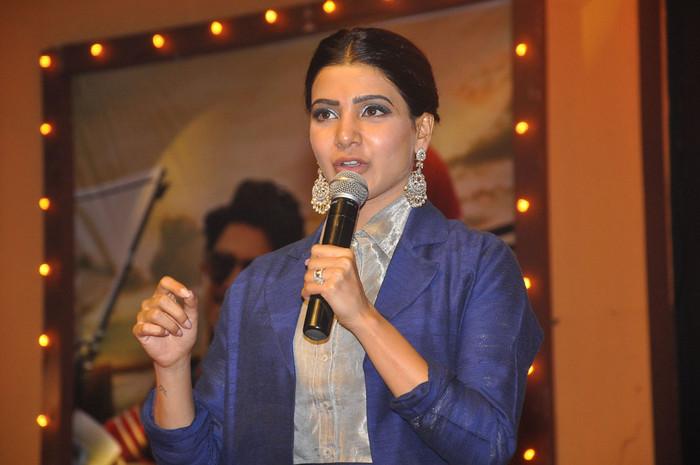 Samantha Akkineni Photos At Mahanati Audio Launch