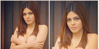 Sherlyn Chopra Goes Topless Photoshoot