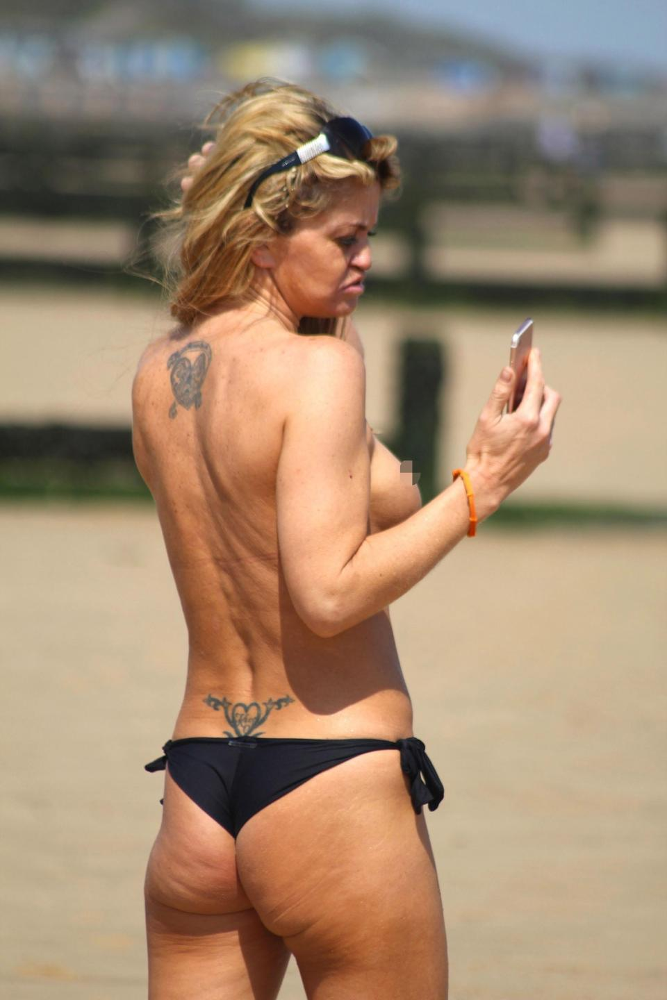Danniella Westbrook Topless Photos southcolors 7