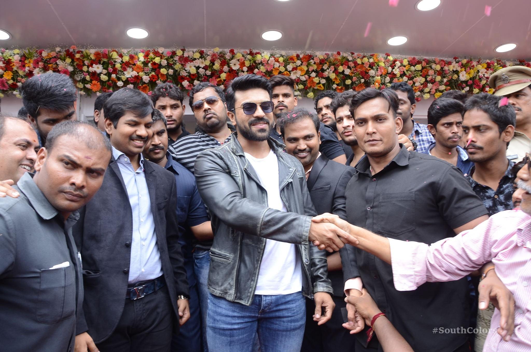 Ramcharan Happi Mobiles Store Launch Photos at Chanda Nagar Southcolors 17