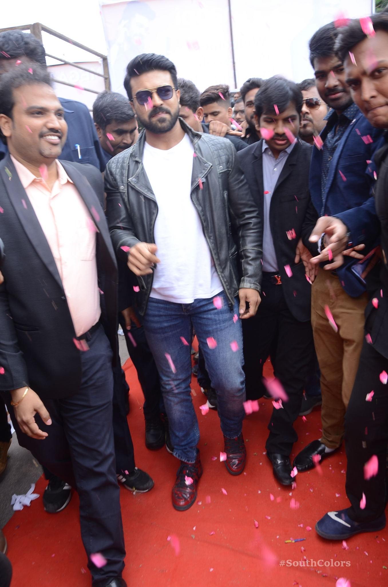 Ramcharan Happi Mobiles Store Launch Photos at Chanda Nagar Southcolors 5