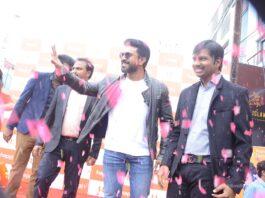Ram Charan Happi Mobiles Store Launch Photos at Chanda Nagar