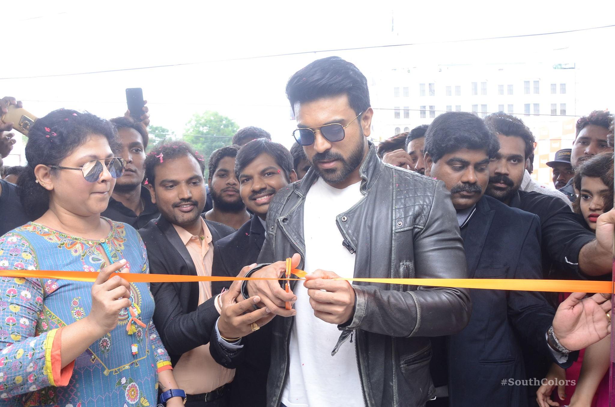 Ramcharan Happi Mobiles Store Launch Photos at Chanda Nagar Southcolors 9