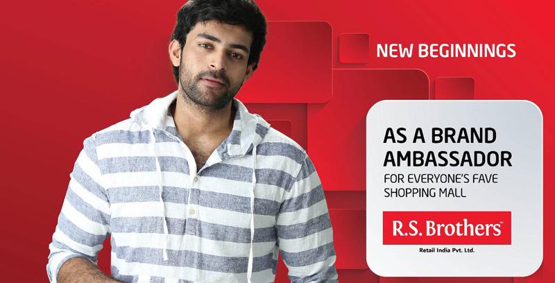 Varun Tej as Brand Ambassador for RS Brothers