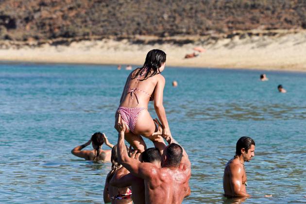 amy jackson hot bikini photos at beach southcolors 13