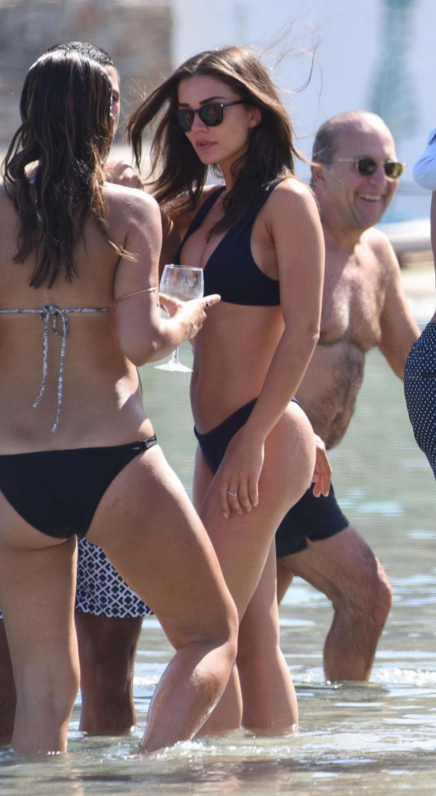 amy jackson hot bikini photos at beach southcolors 8
