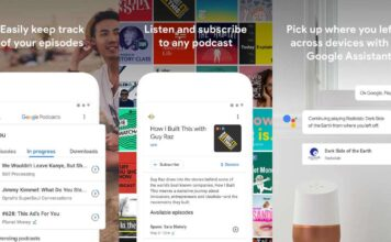 Google Podcasts App for Android Lunched
