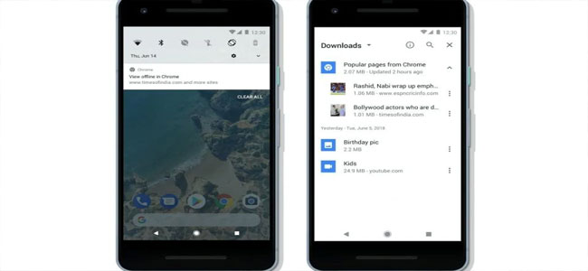 How to Save Mobile Data with Chrome Offline Feature