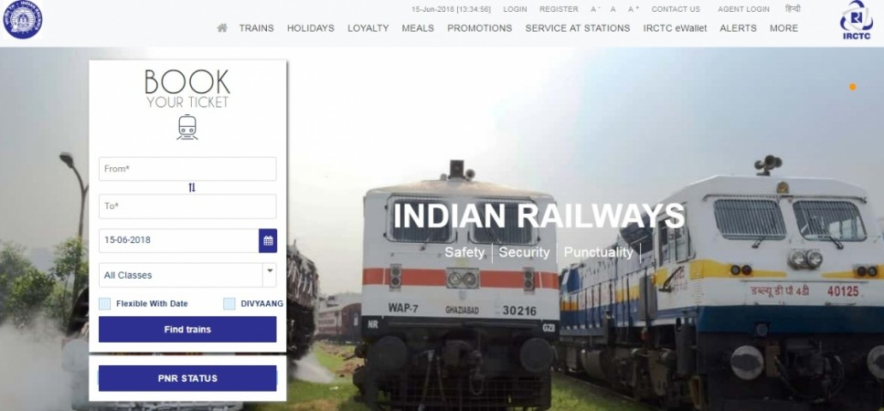 IRCTC Next Generation E-ticketing System Website Gets Redesigned