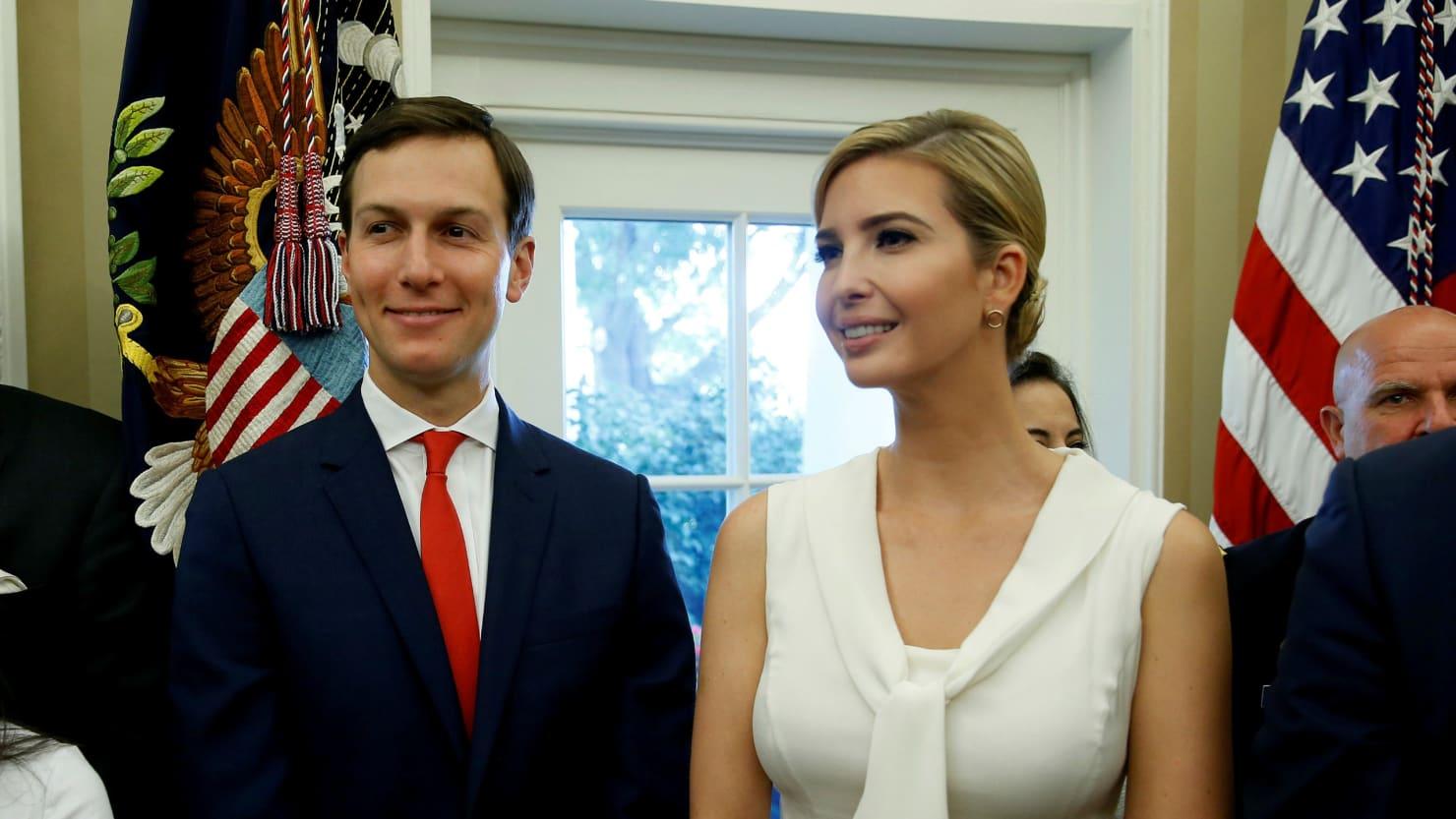 Ivanka Trump and Jared Kushner Commercial Income