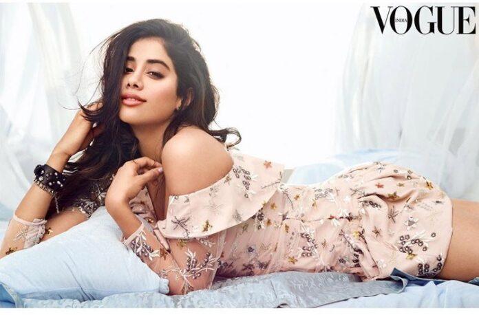 Jhanvi Kapoor Poses Vogue Magazine Photoshoot 2018