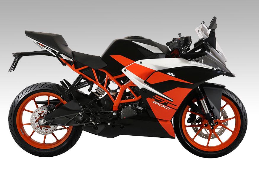 KTM RC 200 Black Colour