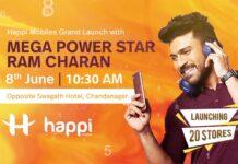 Ram Charan Happi Mobiles AD Photoshoot