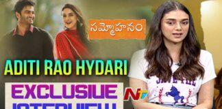 Aditi Rao Hydari Interview about Sammohanam Movie