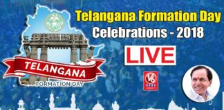 Telangana Formation Day Celebrations 2018 LIVE