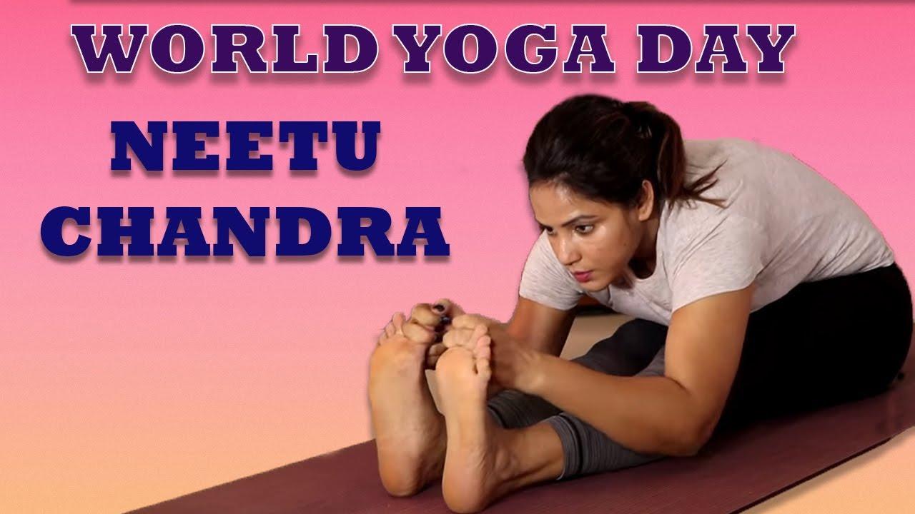 Neetu Chandra Hot Yoga Postures