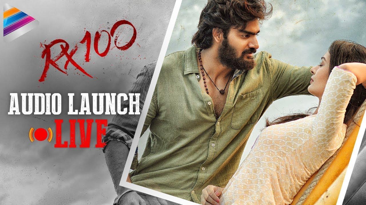 RX 100 Movie Audio Launch LIVE