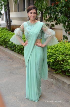 mehrene pirzada photos at pantham movie trailer launch southcolors 1