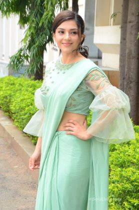 mehrene pirzada photos at pantham movie trailer launch southcolors 10