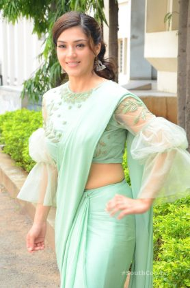 mehrene pirzada photos at pantham movie trailer launch southcolors 11