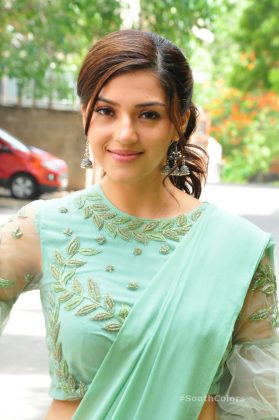 mehrene pirzada photos at pantham movie trailer launch southcolors 13