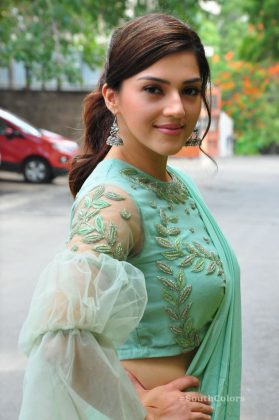 mehrene pirzada photos at pantham movie trailer launch southcolors 14