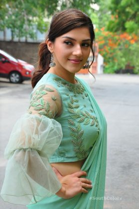 mehrene pirzada photos at pantham movie trailer launch southcolors 15