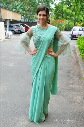 mehrene pirzada photos at pantham movie trailer launch southcolors 16