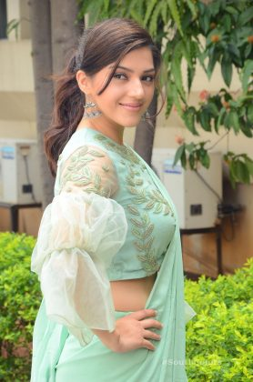 mehrene pirzada photos at pantham movie trailer launch southcolors 17