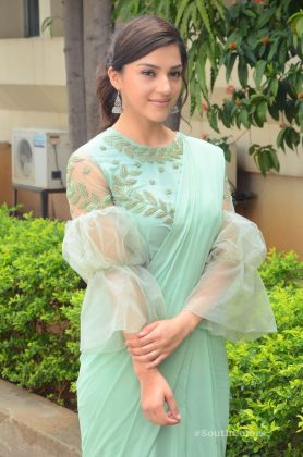 mehrene pirzada photos at pantham movie trailer launch southcolors 18