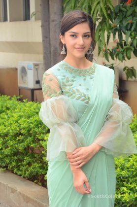 mehrene pirzada photos at pantham movie trailer launch southcolors 19