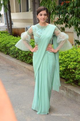 mehrene pirzada photos at pantham movie trailer launch southcolors 20