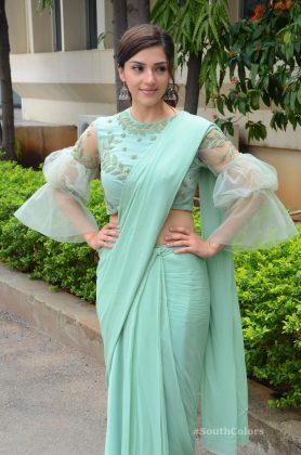 mehrene pirzada photos at pantham movie trailer launch southcolors 21