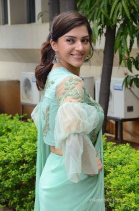 mehrene pirzada photos at pantham movie trailer launch southcolors 3