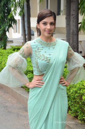 mehrene pirzada photos at pantham movie trailer launch southcolors 4