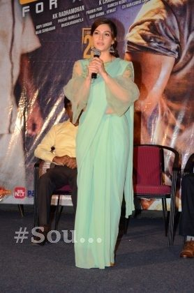 mehrene pirzada photos at pantham movie trailer launch southcolors 7
