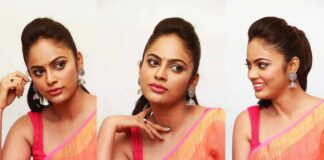 nandita swetha saree photos