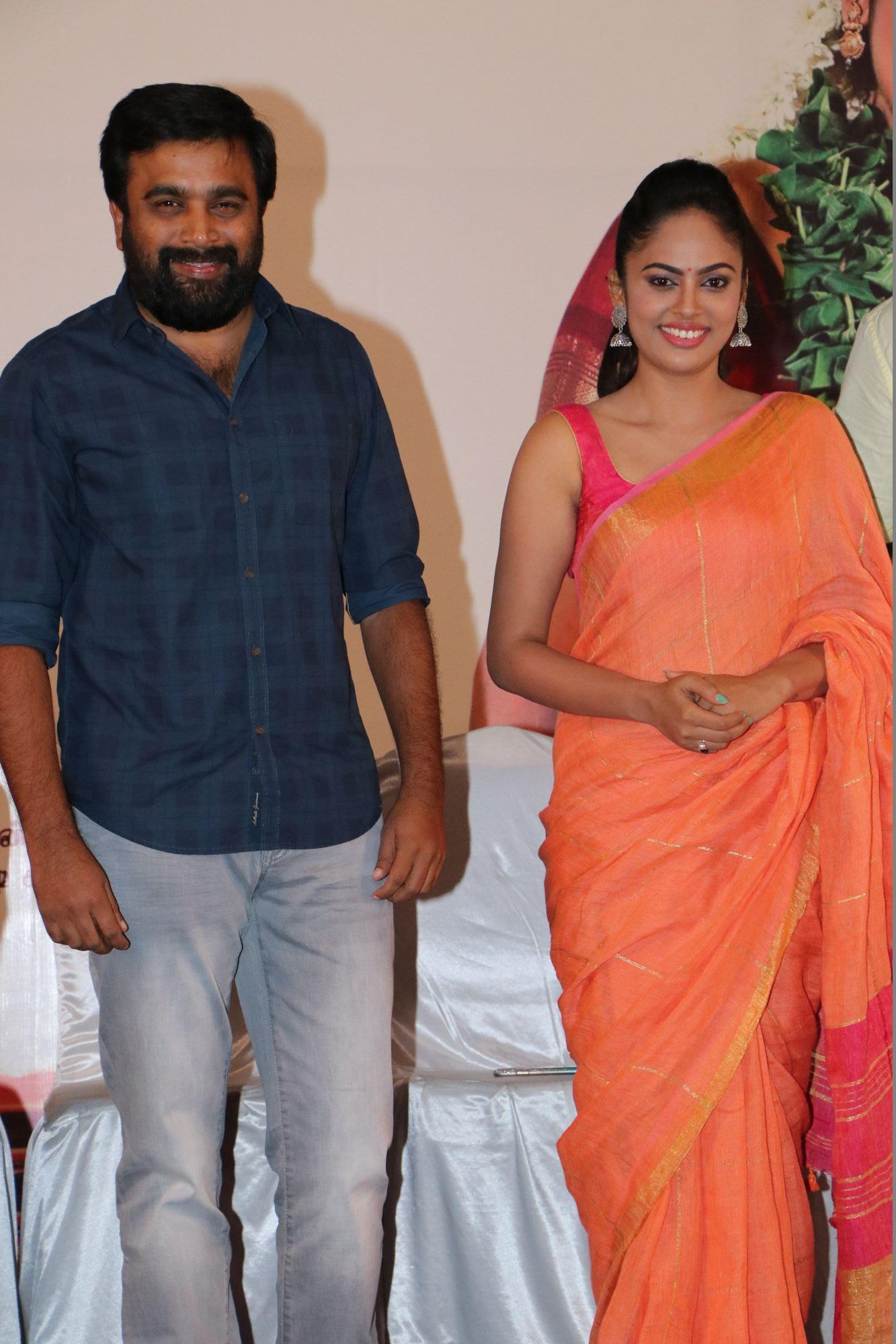 nandita sweta saree photos at asuravatham press meet southcolors 10