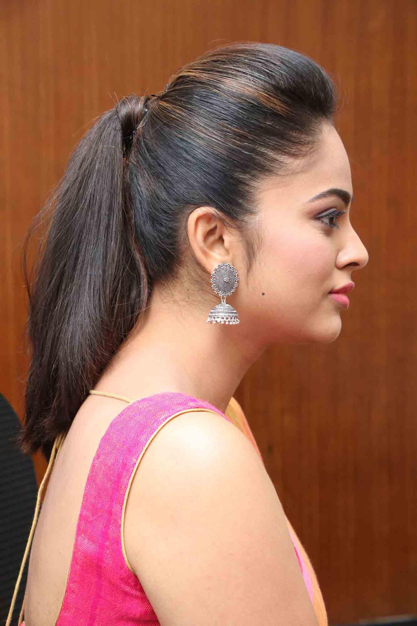 nandita sweta saree photos at asuravatham press meet southcolors 15